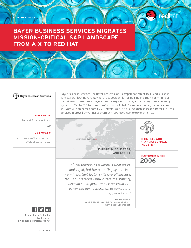 Cropped thumb original en rh bayer business services migrates mission critical sap landscape from aix to red hat case study 11290967