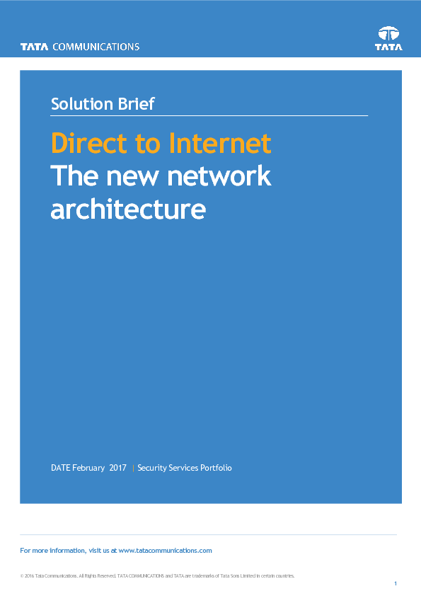Thumb original direct to internet secure web gateway solution brief