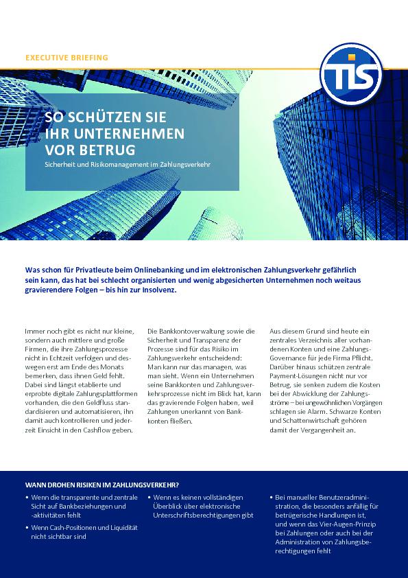 Square cropped thumb original tis executive briefing 2017 sicherheit und risikomanagement.pdf