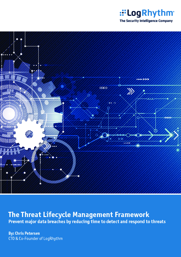 The Threat Lifecycle Management Framework