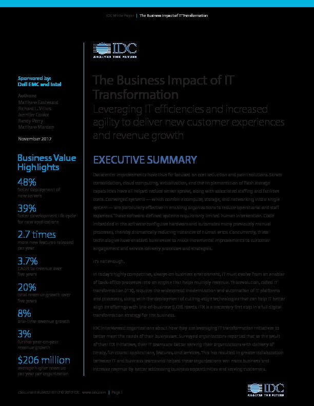 Thumb original idc business impact of it transformation executive summary