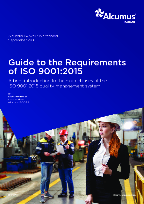 Thumb original alcumus isoqar   guide to the requirements of iso 9001