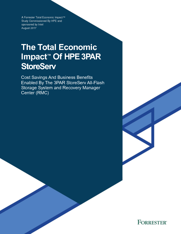 Thumb original the total economic impact of the hpe 3par storeserv uk
