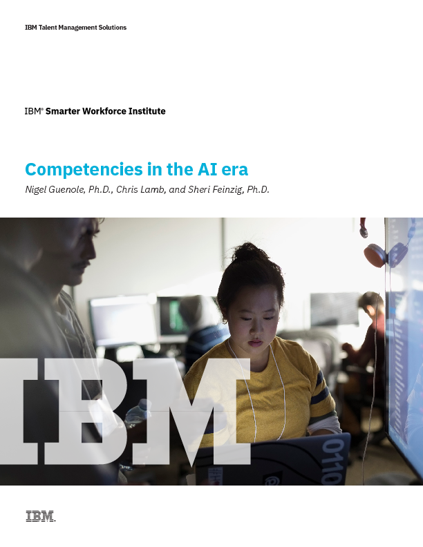 Competencies in the AI era
