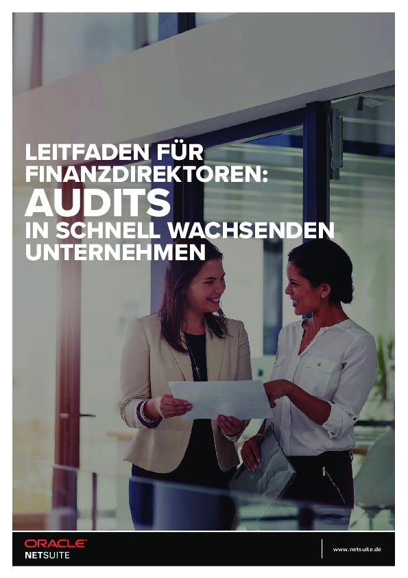 Leitfaden für Finanzdirektoren: Audits in schnell wachsenden Unternehmen