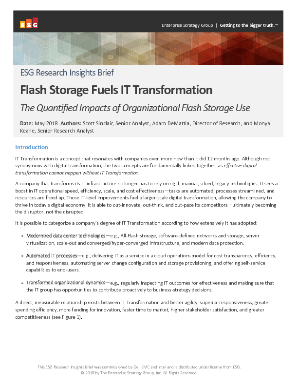 Thumb original third party report esg flash storage fuels it trandormation brief