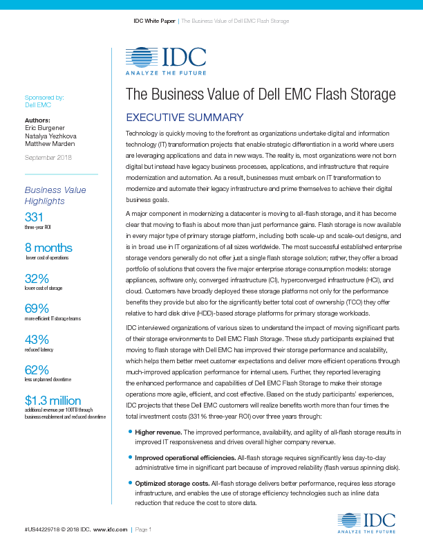 Thumb original idc business value all flash storage report