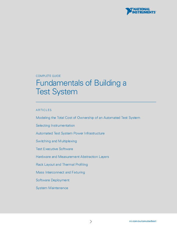 Thumb original fundamentals of building a test system com