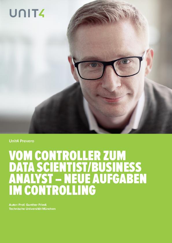 Vom Controller zum Data Scientist/Business Analyst – Neue Aufgaben im Controlling