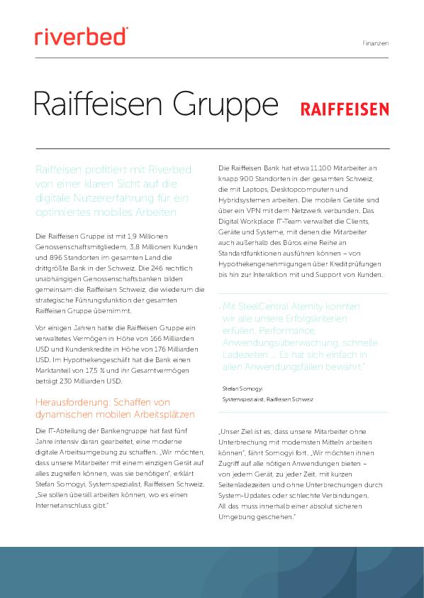 Case Study: Raiffeisen Gruppe