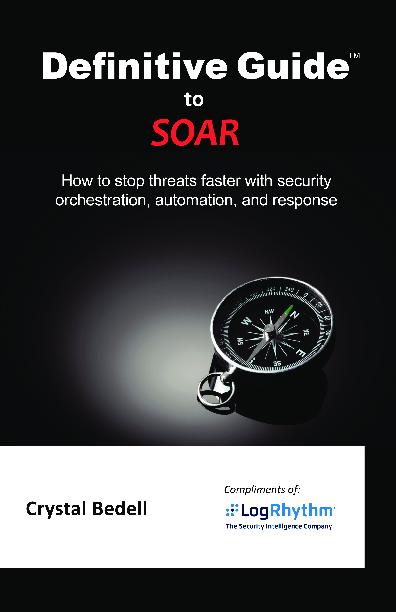 Definitive Guide to SOAR