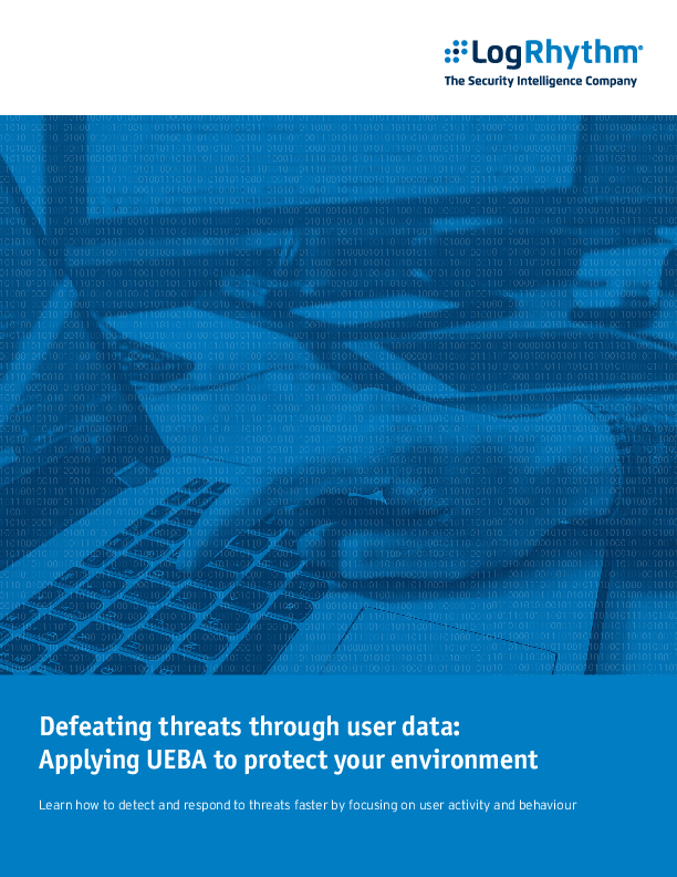 Defeating threats through user data: Applying UEBA to protect your environment
