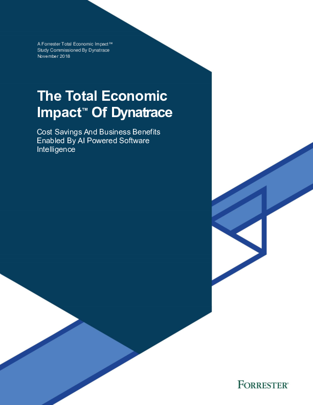 The Total Economic Impact of Dynatrace
