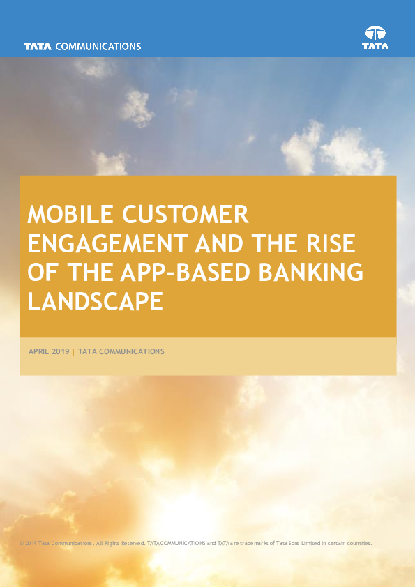 Thumb original mobile customer engagement and the rise of the app based banking landscape