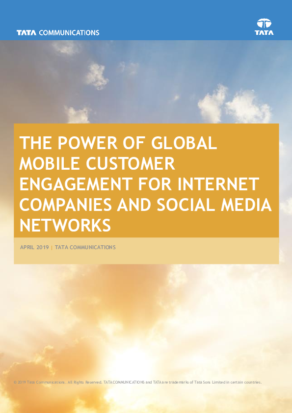 Thumb original the power of global mobile customer engagement for internet companies and social media networks