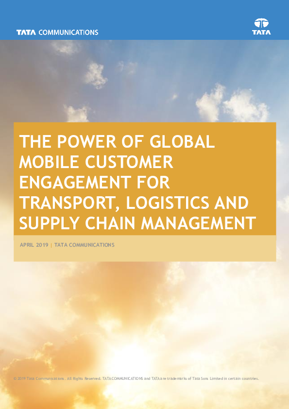 Thumb original the power of global mobile customer engagement for transport  logistics and supply chain managementanagement