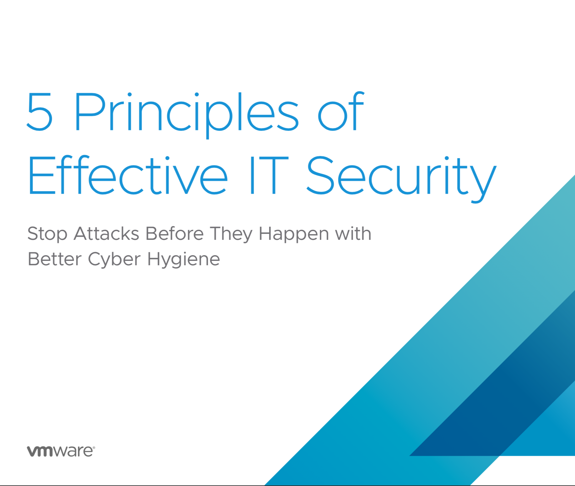 5 Principles of Effective IT Security