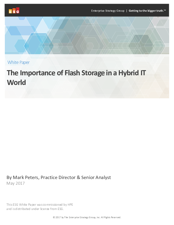 Thumb original esg the importance of flash storage in a hybrid it world