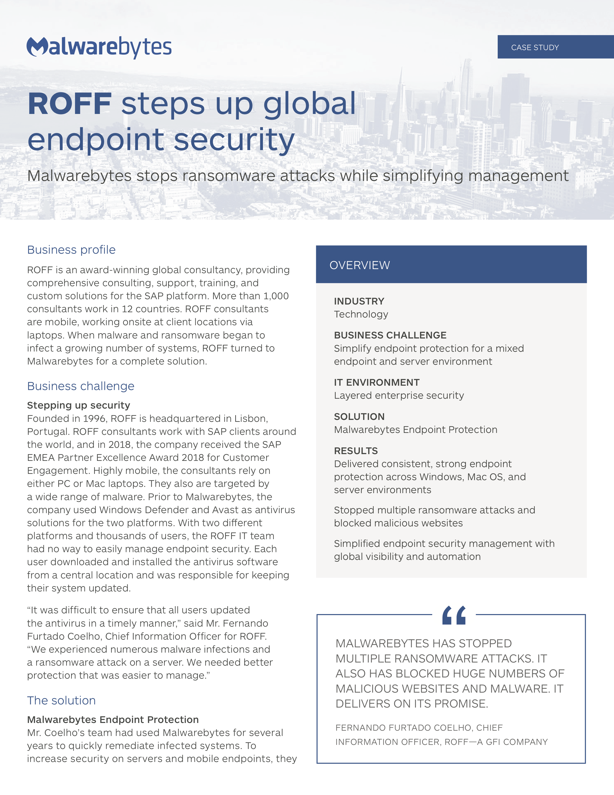 ROFF steps up global endpoint security
