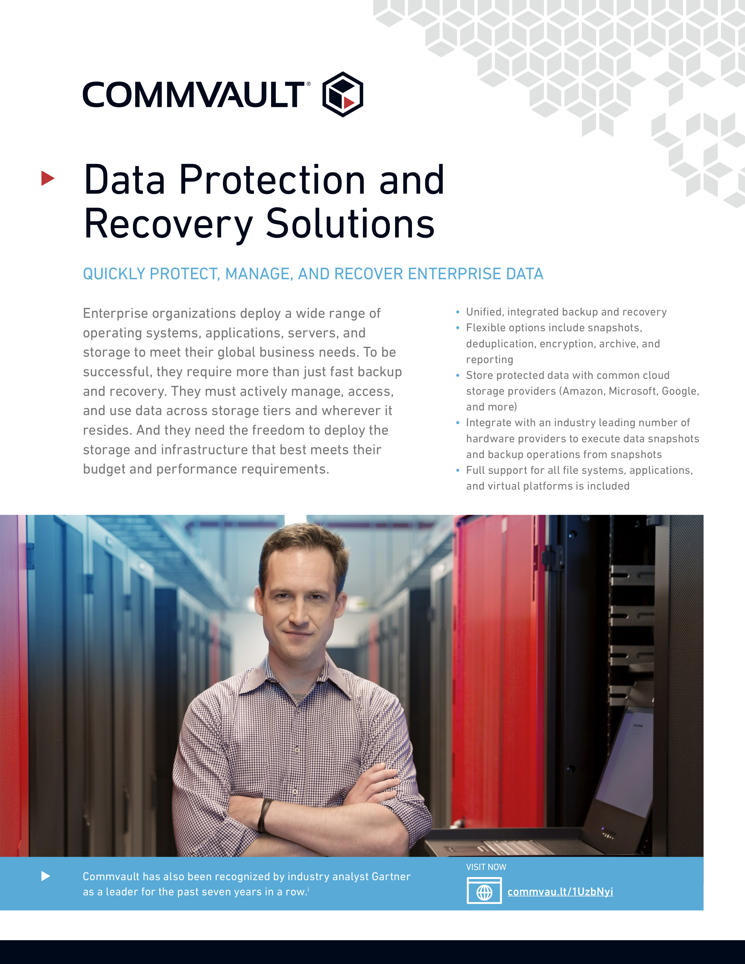 Solution brief commvault data protection and recovery solutions