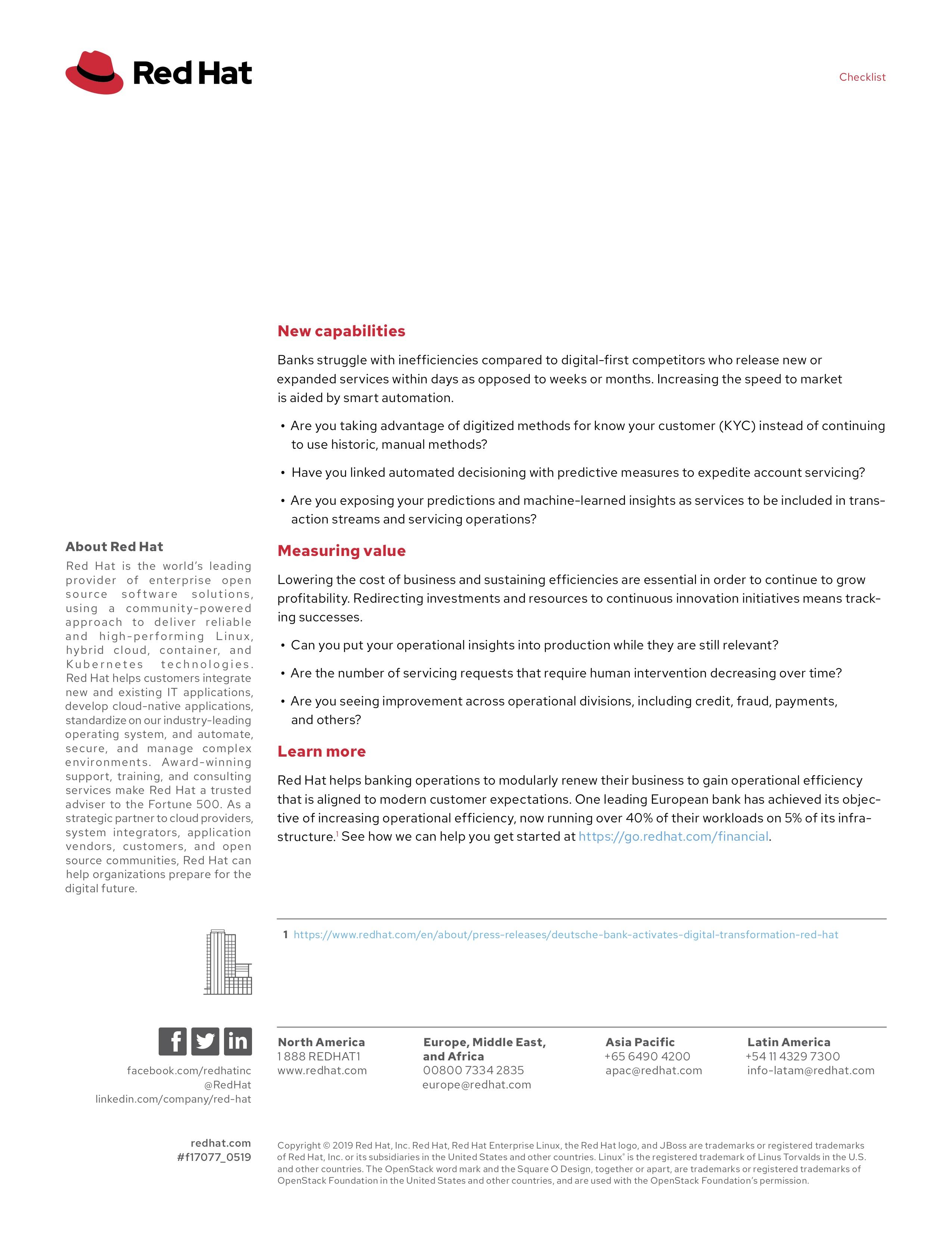Ve executive checklist oe brief f17077wg 201905 en 1