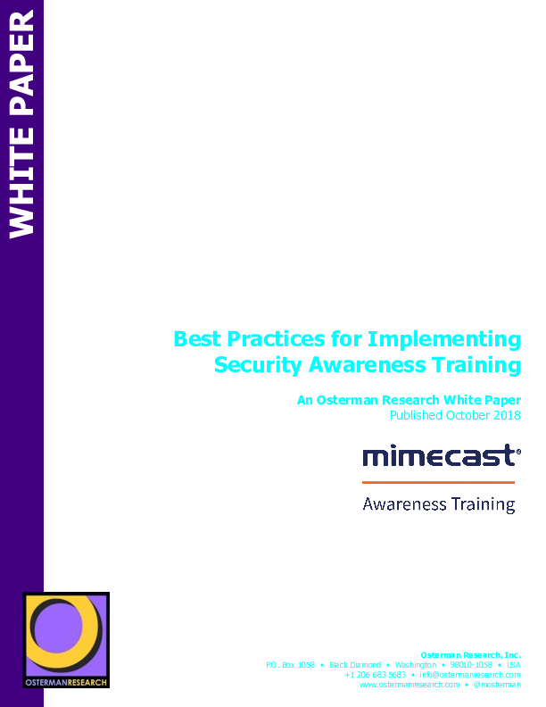 Square cropped thumb original osterman   best practices for implementing awareness training d8ca7367dc534433