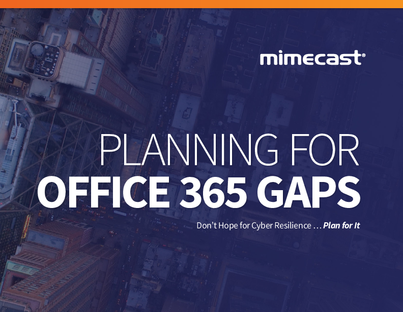 Thumb original planning for o365 gaps