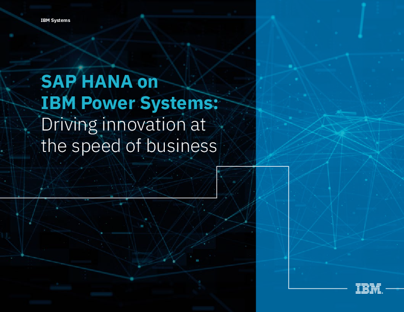 Thumb original sap hana on power systems driving innovation ebook march 2019 version pom03016usen