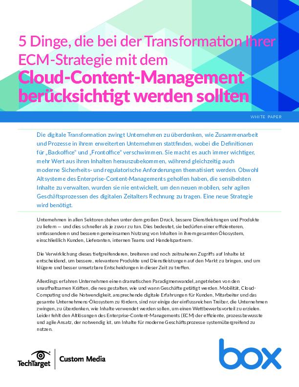 Square cropped thumb original 5 dinge  die bei der transformation ihrer ecm strategie mit dem cloud content management ber%c3%bccksichtigt werden sollten 53e990d886010900