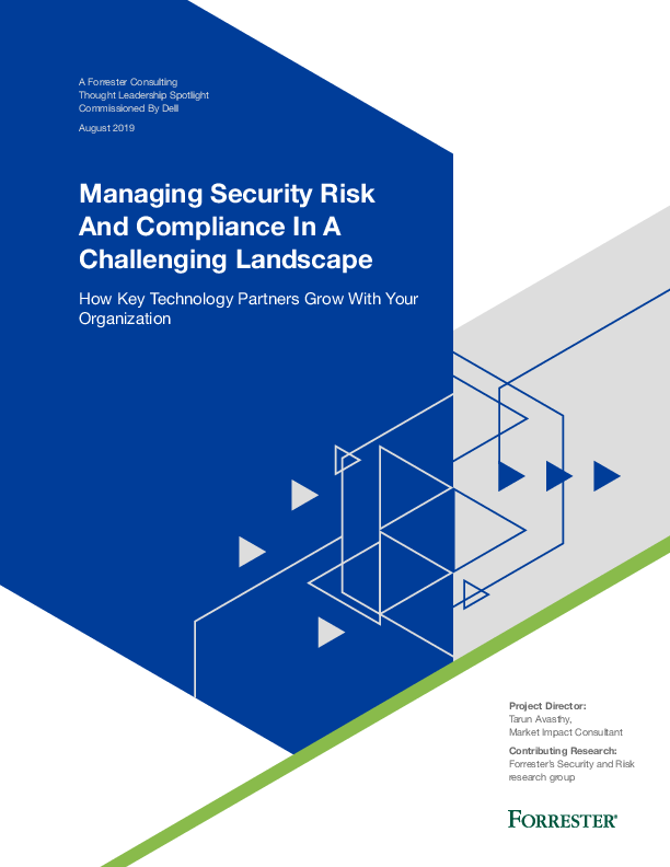 Thumb original forrester tlp   managing security risk and compliance in a challenging landscape