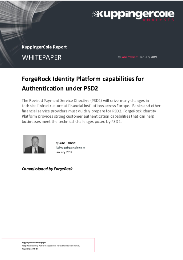Thumb original kuppingercole whitepaper forgerock identity platform capabilities for authentication under psd2