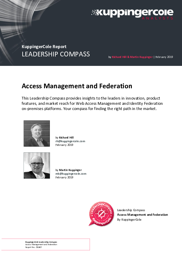 Square cropped thumb original kuppingercole leadership compass access management and federation 2019 6fc09e2b003908e2