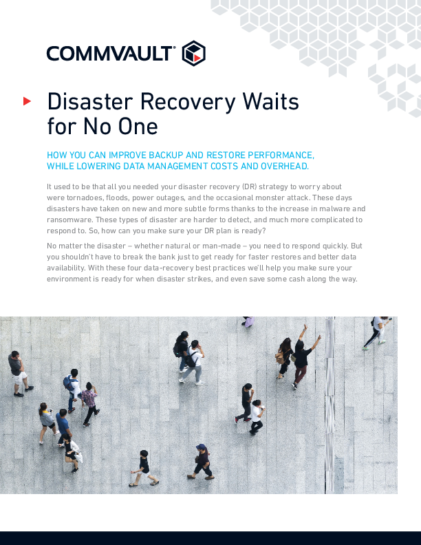 Thumb original disaster recovery waits for no one