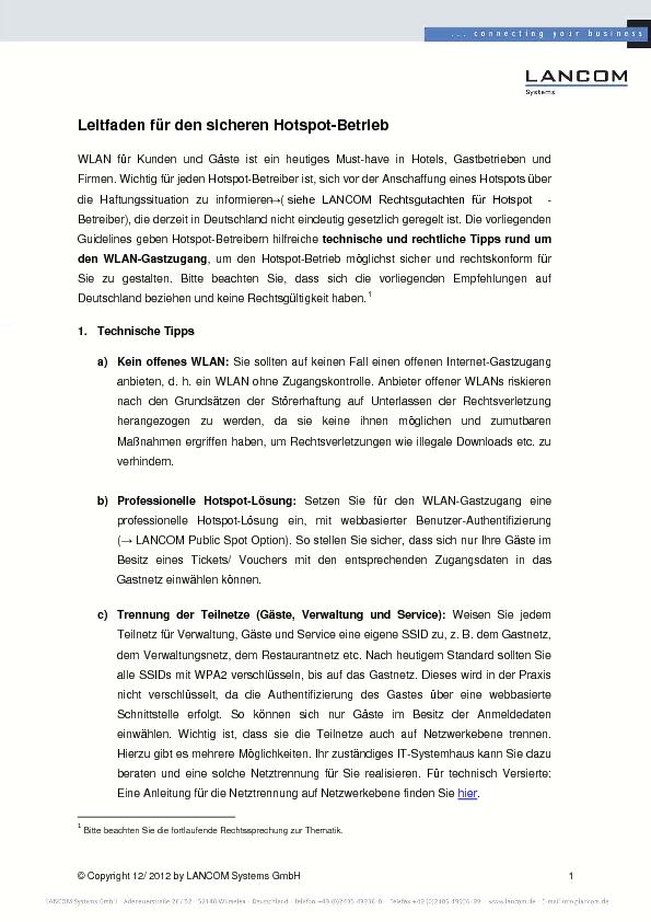 Thumb original 2012 12 lancom leitfaden hotspot betrieb