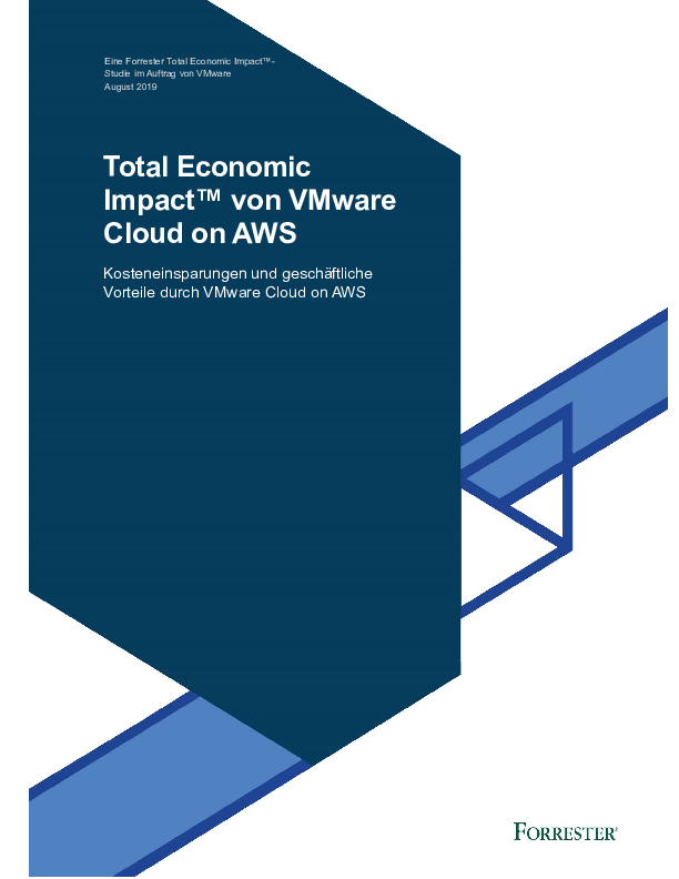 Thumb original the total economic impact of vmware cloud on aws   de