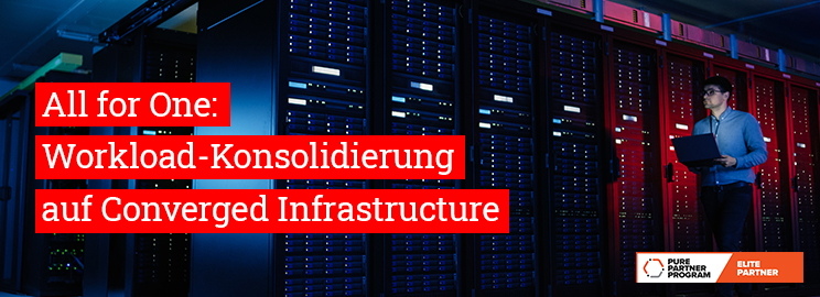 Landingpage pure storage all for one