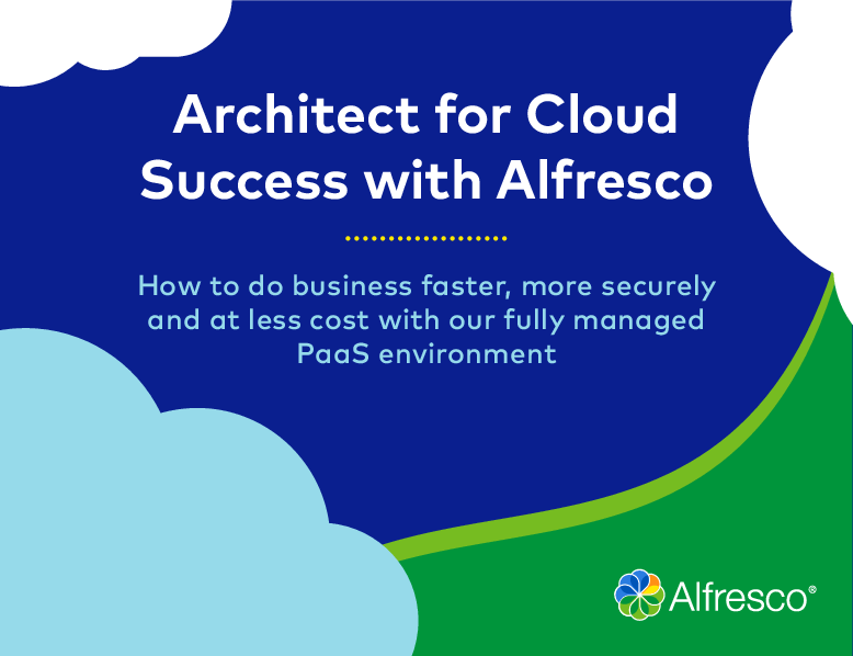 Thumb original architect for cloud success in paas environment