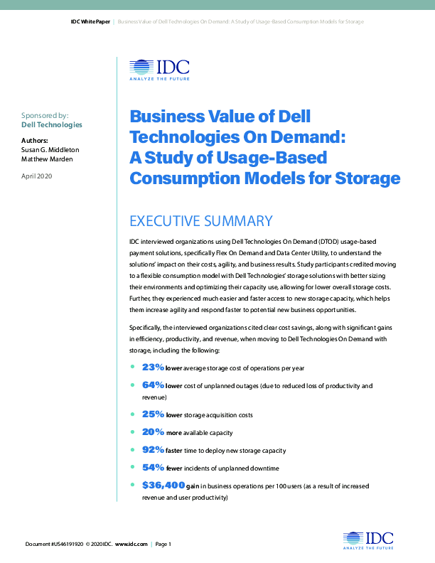 Thumb original is2102g0005 004   idc the business value of dell technologies on demand
