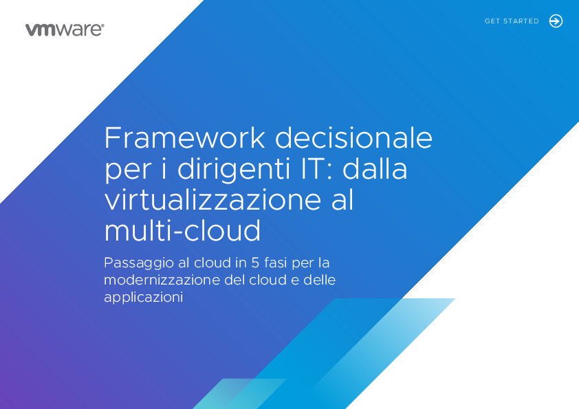 Thumb original it executive decision framework   from virtualization to multi cloud   it
