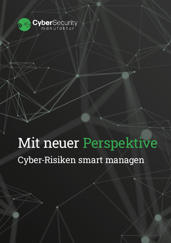 Thumb original cybersecurity whitepaper   mit neuer perskeptive cyber risiken smart managen