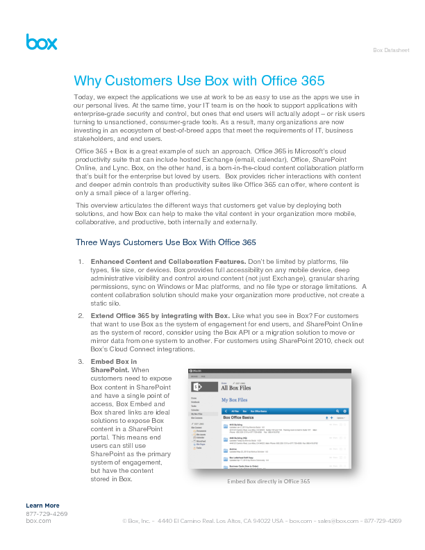 Thumb original why customers use box with office 365