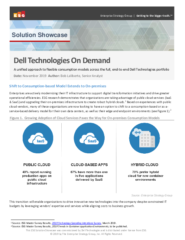 Thumb original esg solution showcase dell technologies on demand