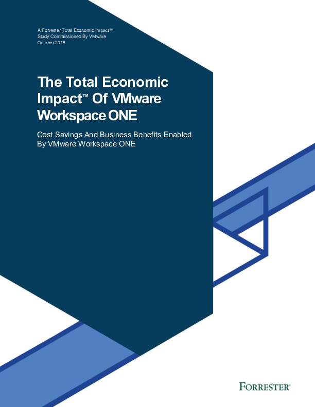 Thumb original the total economic impact of vmware workspace one   final oct 2018