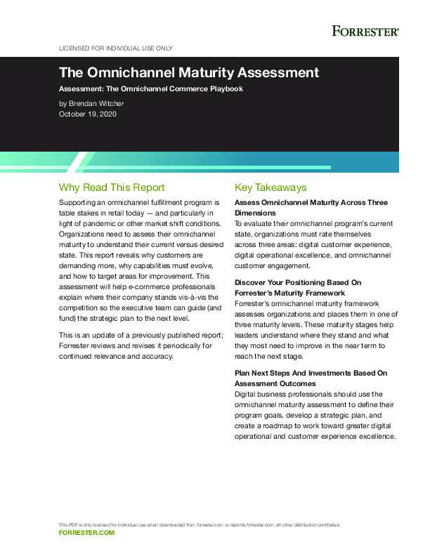 Thumb original the omnichannel maturity assessment