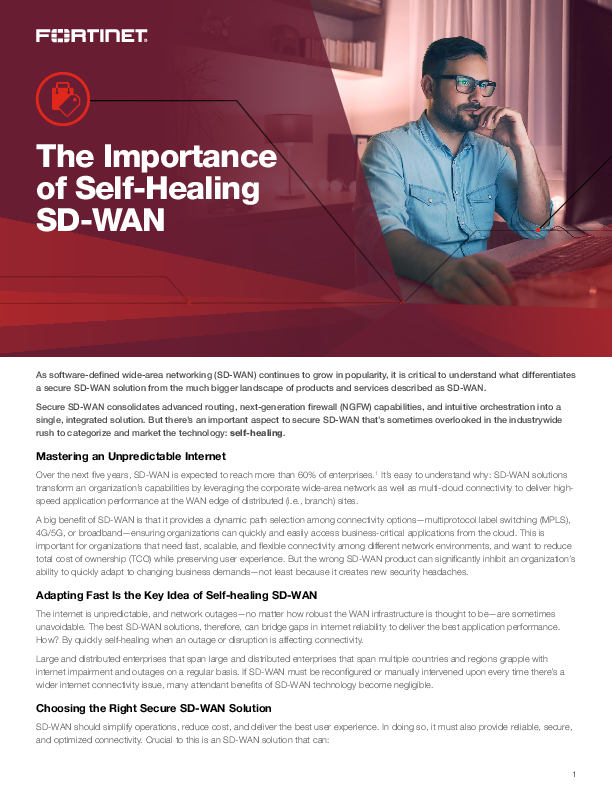 Thumb original pov the importance of self healing sdwan