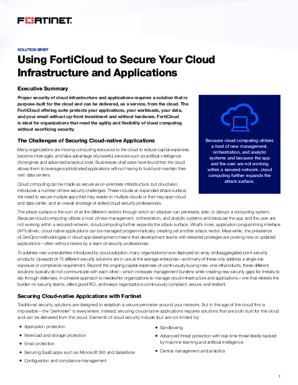 Square cropped thumb original sb using forticloud to secure your cloud infrastructure and applications
