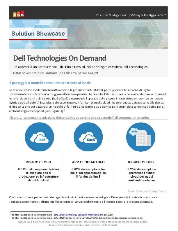 Thumb original it esg solution showcase dell technologies on demand