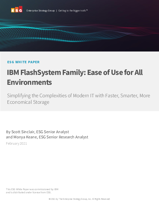 Thumb original esg wp ibm flashsystem ease of use for all environments feb 2021 1 89023889usen