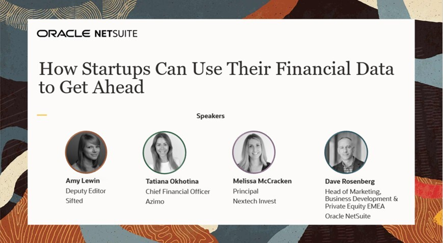 How startups can use their financial data to get ahead