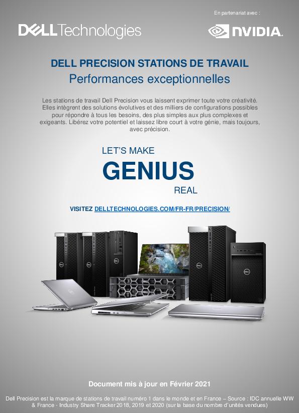 Thumb original guide workstation dell technologies nvidia 2021 fevrier